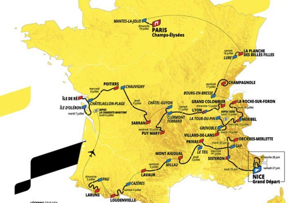 percorso tour 2020