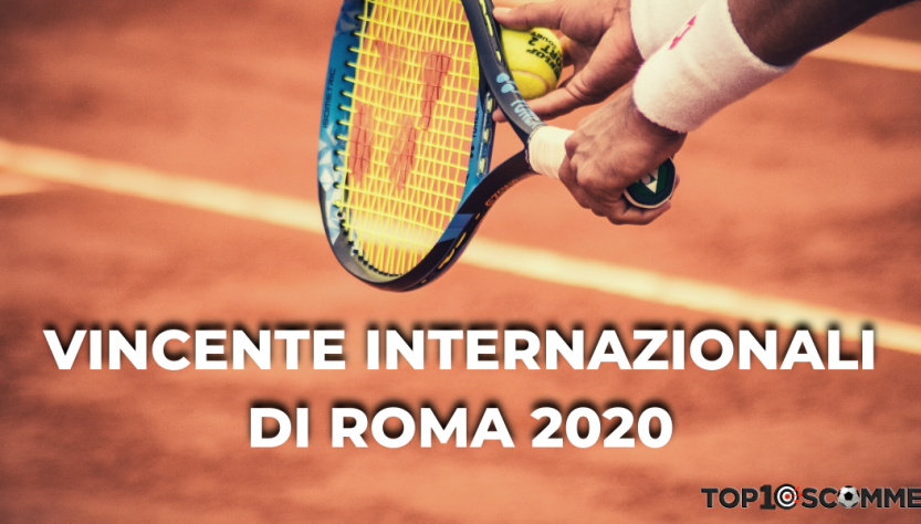 quote vincente internazionali tennis roma 2020