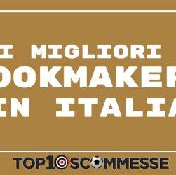migliori bookmakers in in Italia