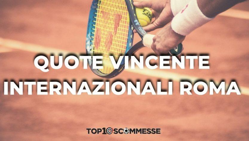 quote vincente Internazionali 2021