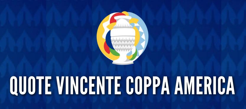Quote vincente Coppa America 2021