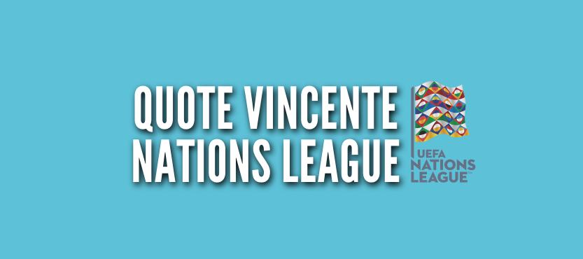 Quote vincente Nations League 2021